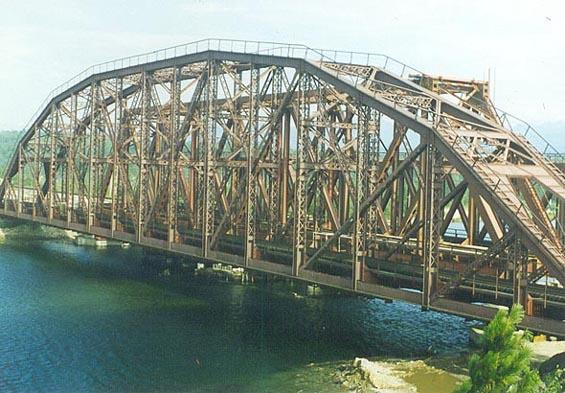 зовский мост, там их длина